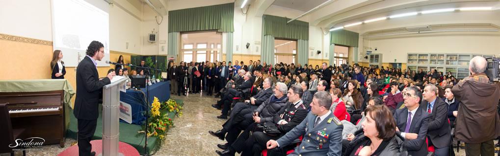Martedì 14 gennaio 2014 - Il Ministro on. Maria Chiara Carrozza incontra gli studenti del Liceo.